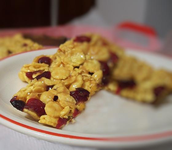 baton de cereale cu fructe uscate