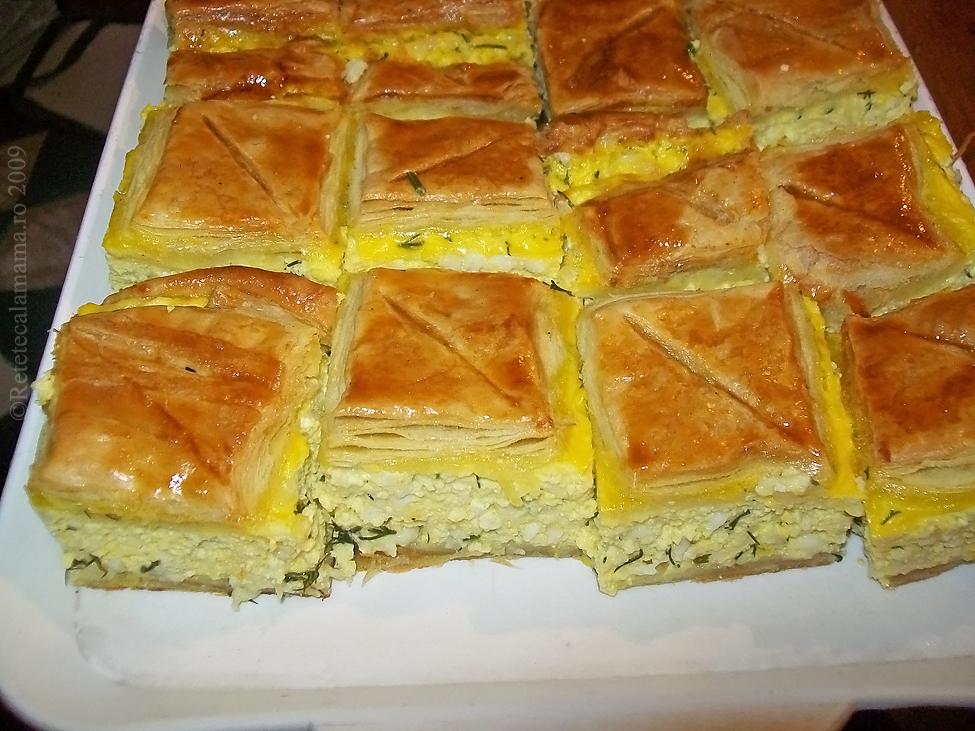 Aluat foietaj - Placinta cu branza si urda
