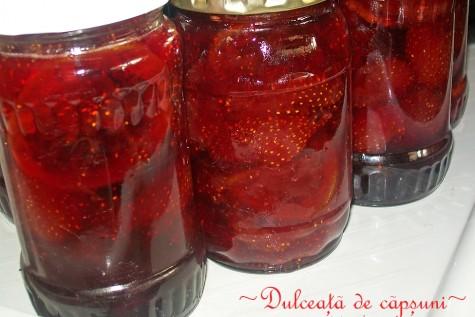 Dulceață de căpșuni cu lămâie