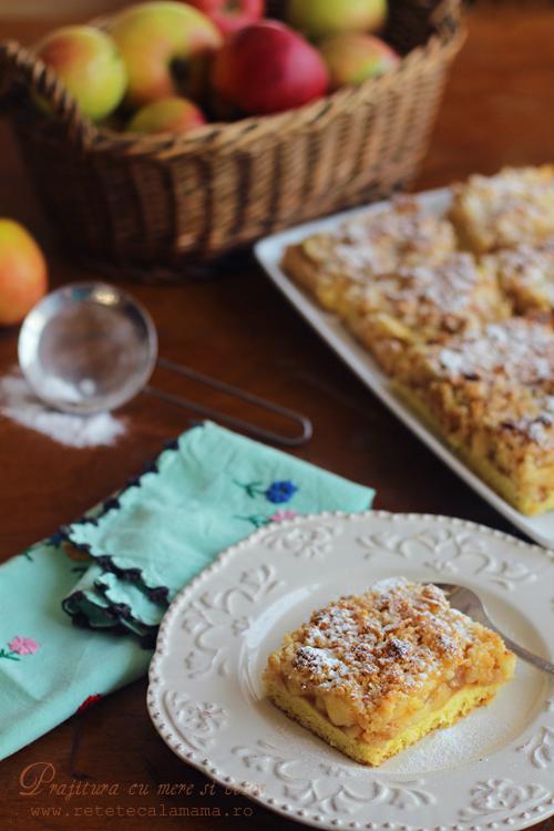 prajitura cu mere si cocos 1