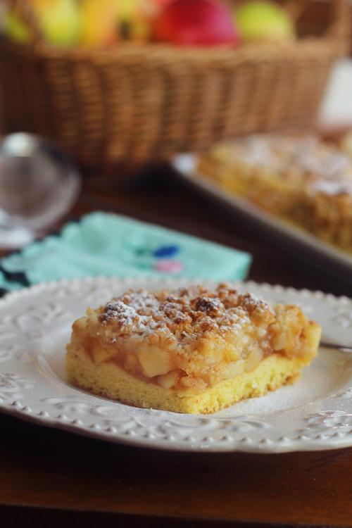 prajitura cu mere si cocos sectiune 1