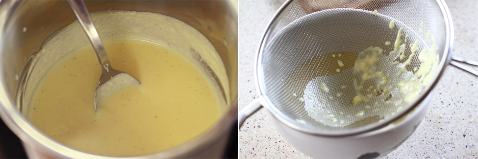 preparare sos de vanilie creme anglaise 2