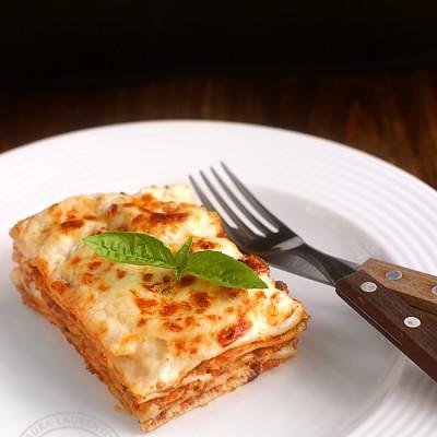 Lasagna cu foi de casa