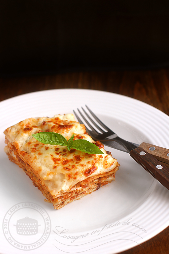 Lasagna clasica italiana - cu foi de casa