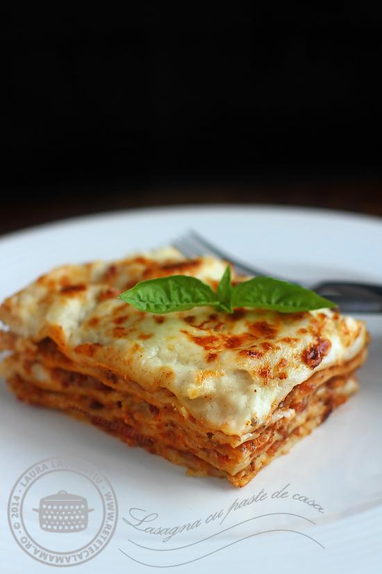 lasagna clasica italiana reteta