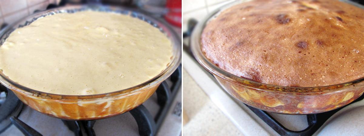 coacere prajitura cu mere caramelizate