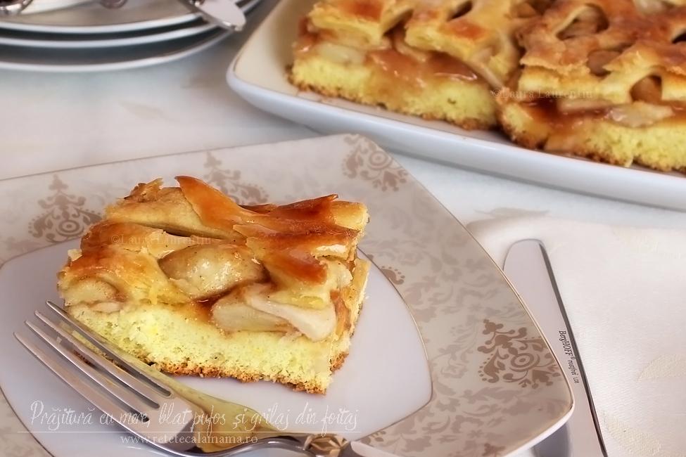 Prăjitură cu mere, rețetă explicată pas cu pas
