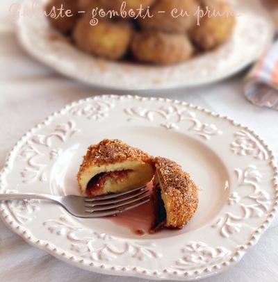 Preparare Galuste - gomboti - knedle cu prune 10
