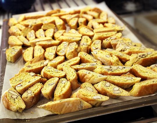 Cantuccini - biscuiti italieni