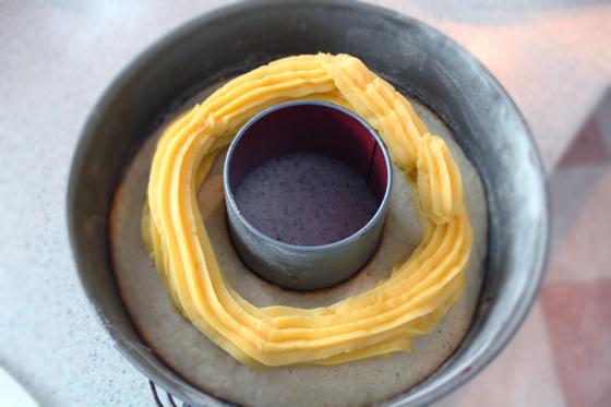 Preparare Chec Raffaello cu cocos si crema de vanilie 5