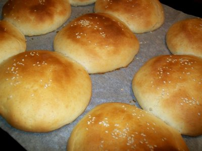 Preparare Chifle pentru pljeskavica, hamburger sau sandviciuri 11
