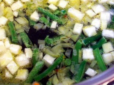 Preparare Ciorbita de legume 6
