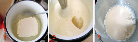 Preparare Prajitura cu mere caramelizate si crema de branza 9