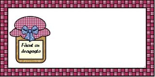 Preparare Etichete pentru dulceata sau gemul de casa 4