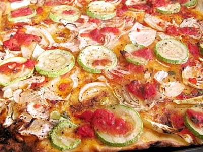Preparare Reteta video: Pizza vegetariana - de post 2