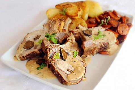 Friptura de porc cu trufa neagra