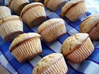 Preparare Muffins pufosi - foarte gustosi 7