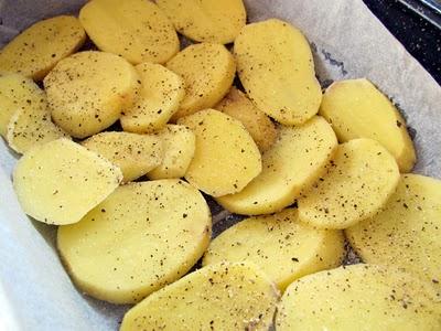Preparare Musaca de cartofi de post 5