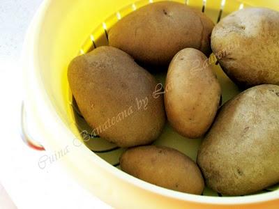 Preparare Paine de casa cu cartofi - reteta nemţească 2
