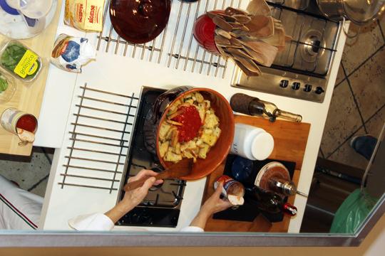 Preparare Pappa col pomodoro 6