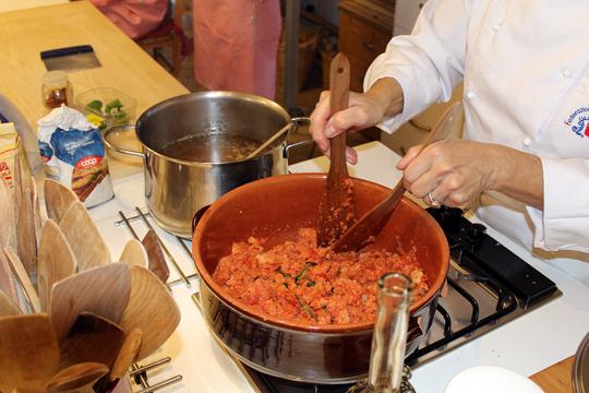 Preparare Pappa col pomodoro 11