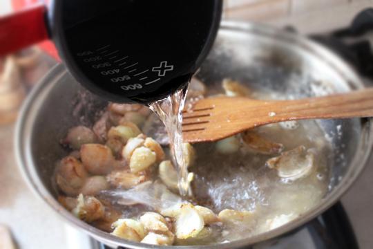 Preparare Piept de pui cu smantana si tarhon 5