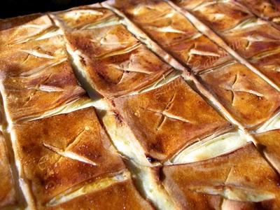 Preparare Placinta cu branza dulce 11
