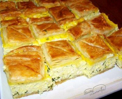 Preparare Aluat foietaj - Placinta cu branza si urda 15