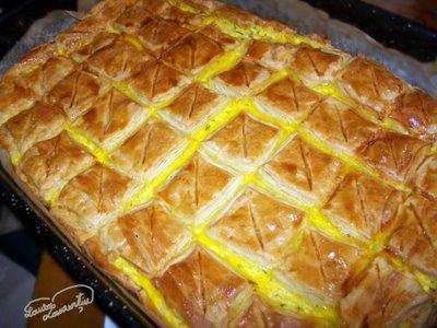 Aluat foietaj – Placinta cu branza si urda