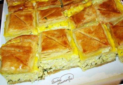 Preparare Aluat foietaj - Placinta cu branza si urda 16