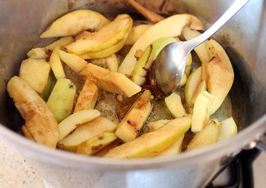 Preparare Pui la cuptor cu gutui 6