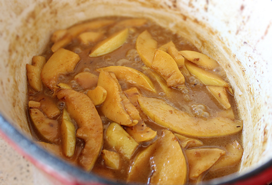 Preparare Pui la cuptor cu gutui 9