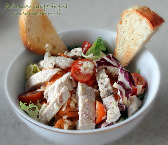reteta salata de pui