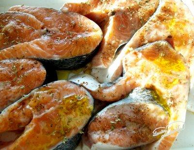 Preparare Somon in crusta aromata, la cuptor 1