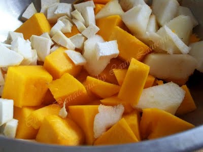 Preparare Supa-crema de dovleac 3