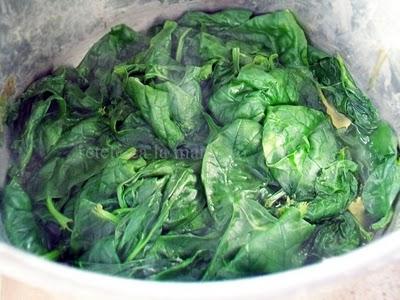 Preparare Supa de spanac 2