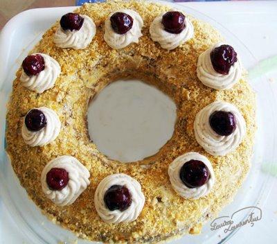 Preparare Tort Frankfurter Kranz 15