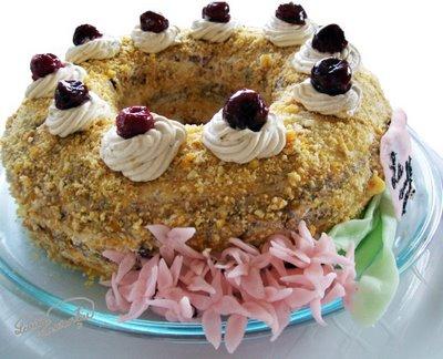 tort cu visine si nuci caramelizate Frankfurter Krone 2