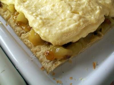 Preparare Tort cu mere si coniac 14