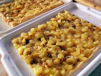 Preparare Tort cu mere si coniac 8