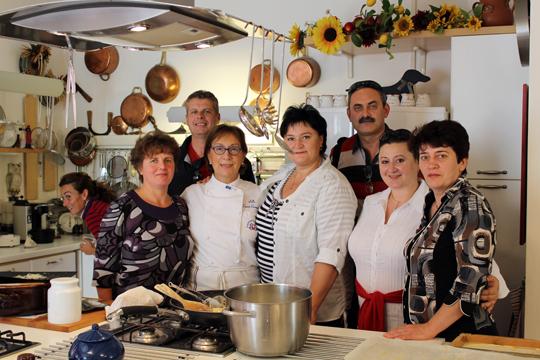 Preparare Zile de toamna frumoasa. In Toscana 4