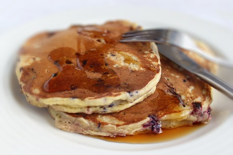Pancakes – clatite americane cu mure