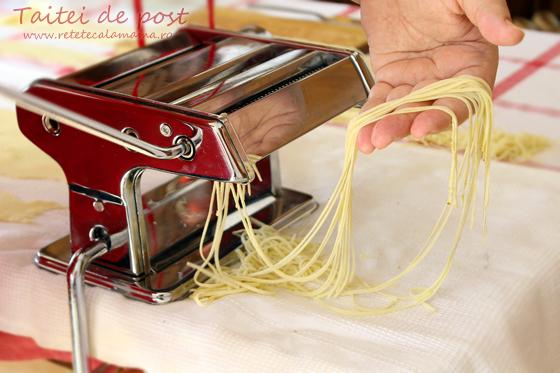 Preparare Paste - taitei - de casa de post 8