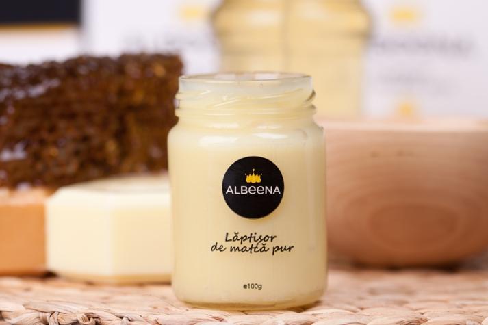 laptisor-de-matca-Albeena, produse apicole, laptisor de matca