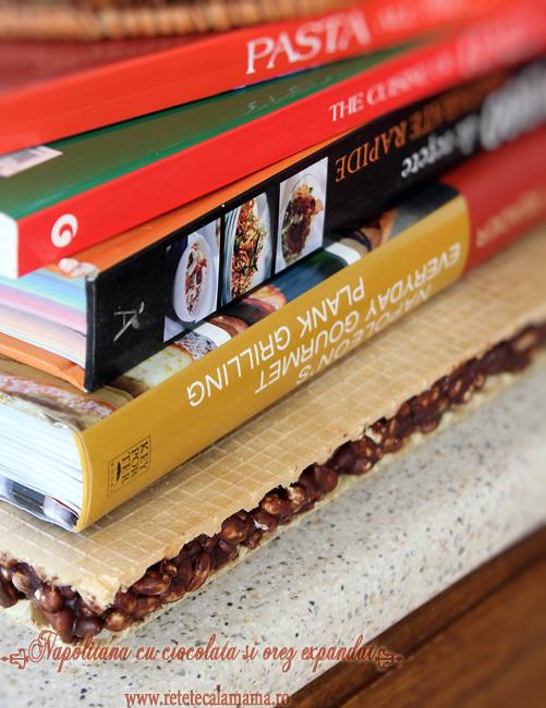 preparare napolitana cu ciocolata si orez 4