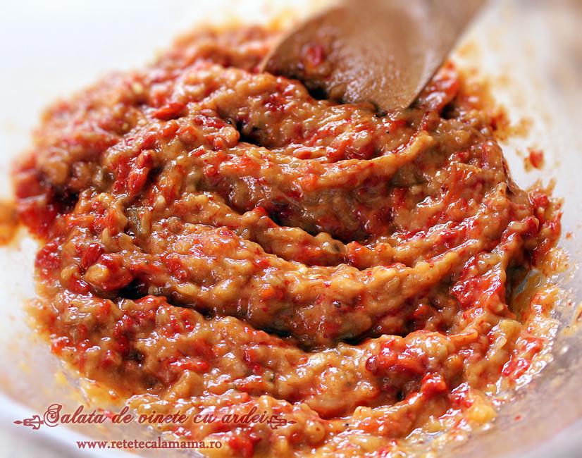salata de vinete cu ardei copti 2