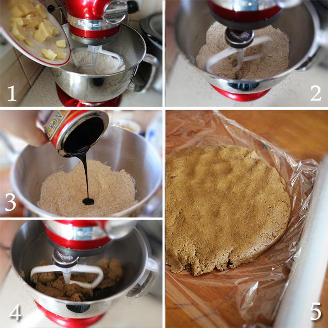 preparare biscuiti graham