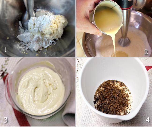 preparare inghetata cheesecake, reteta inghetata gust cheesecake