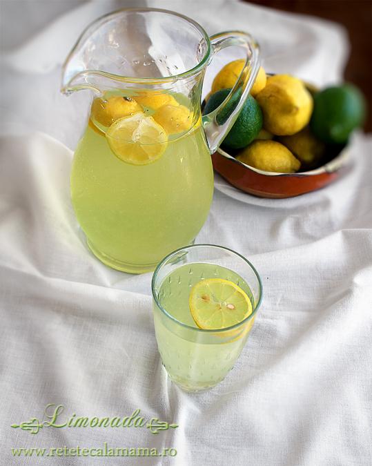 limonada, reteta de limonada