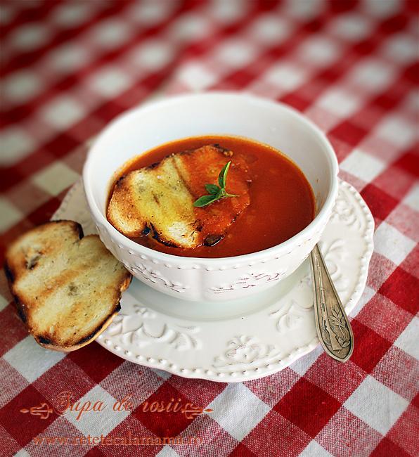 supa de rosii, reteta de supa de rosii 2